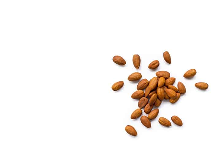 Almonds are Good for your teeth!